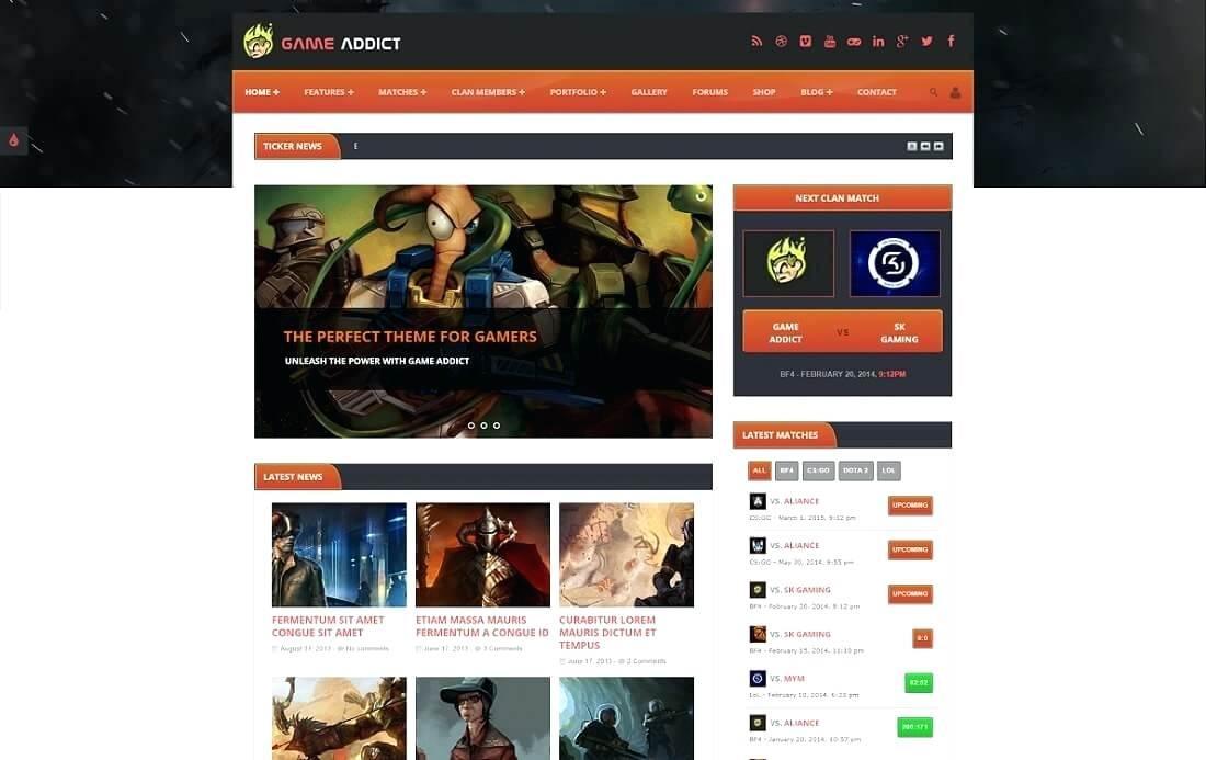 Clan Website Template Download