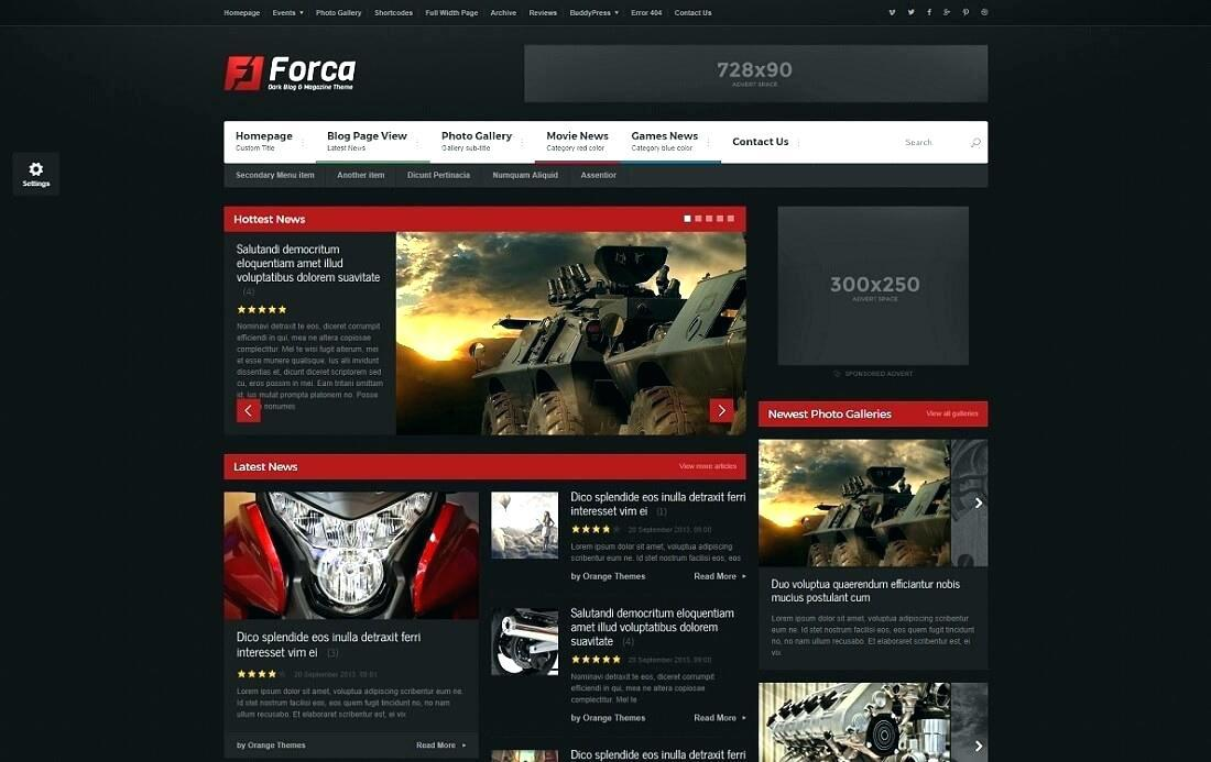 Clash Of Clans Clan Website Template
