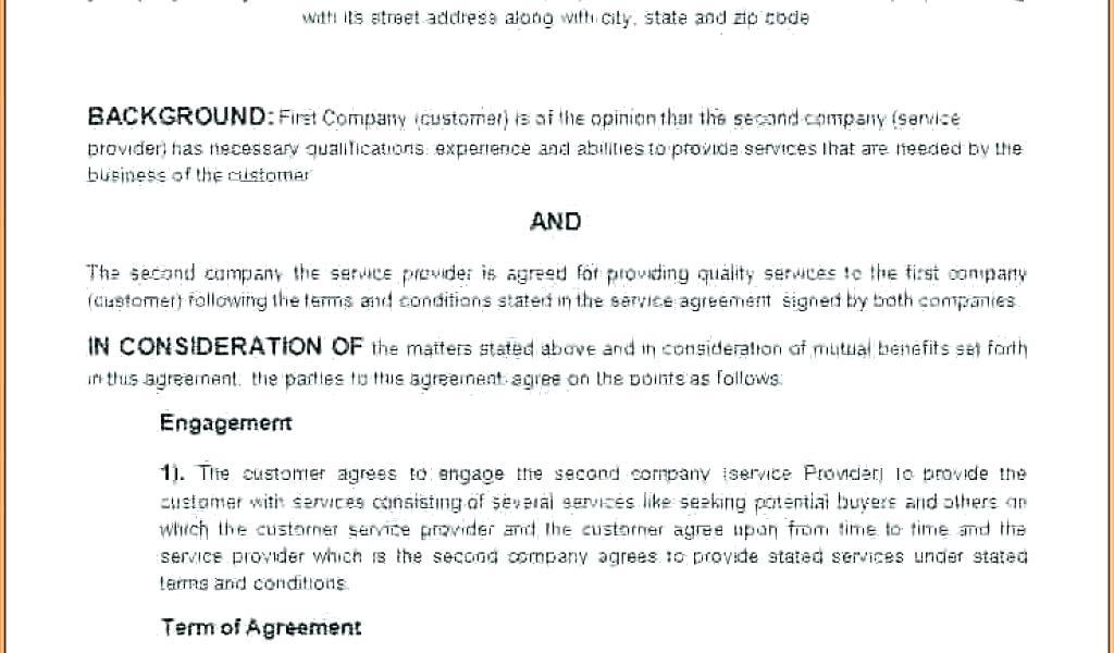 Cleaning Confidentiality Agreement Template