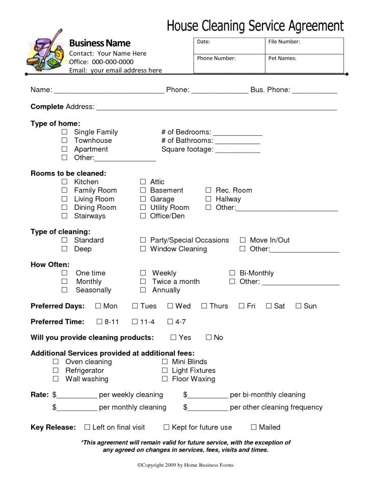 Cleaning Contract Sample Pdf