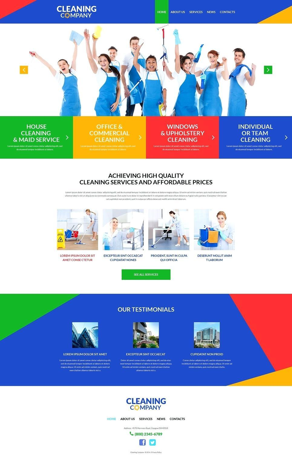 Cleaning Contract Templates Uk