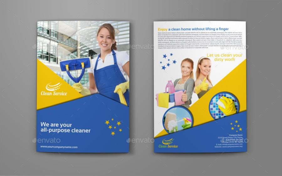Cleaning Flyer Templates Free
