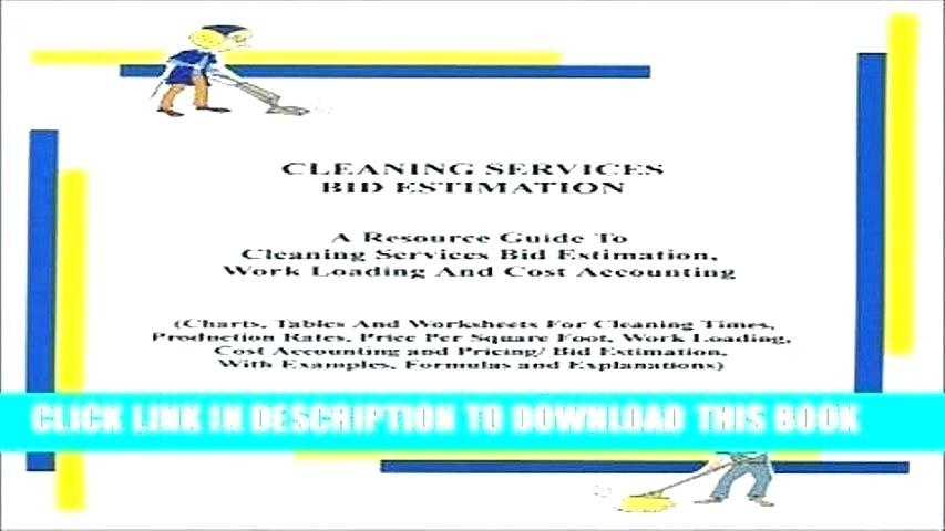 Cleaning Services Bid Template