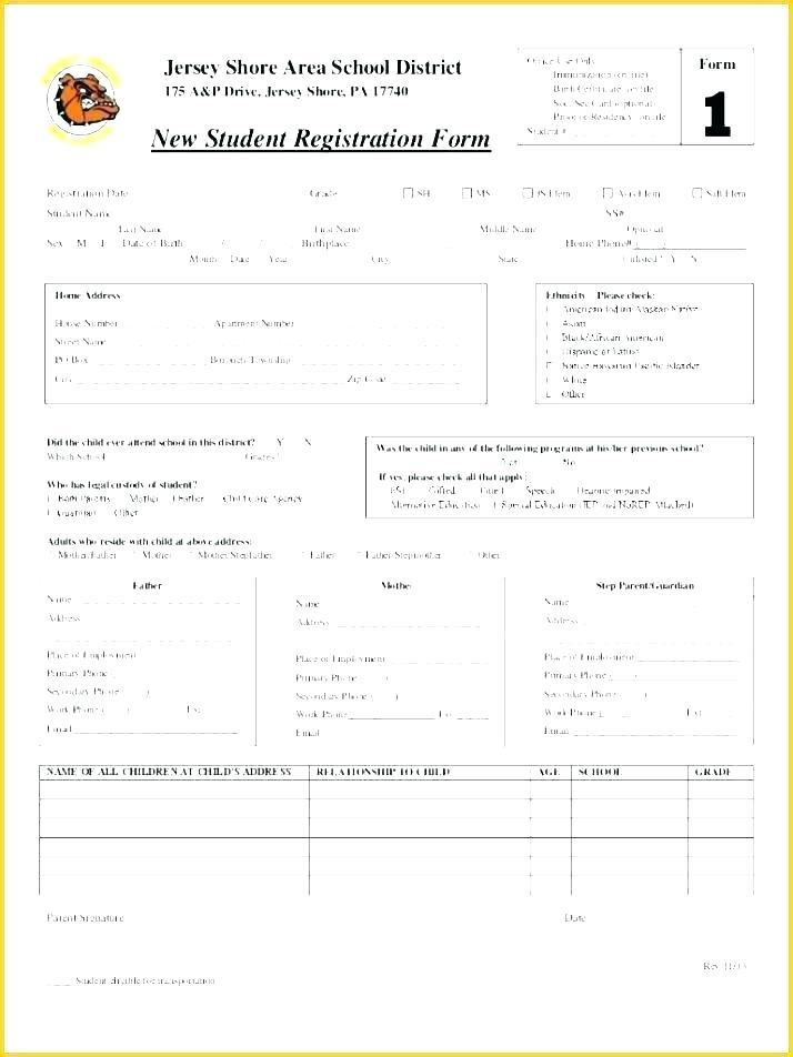 Club Application Form Template Word