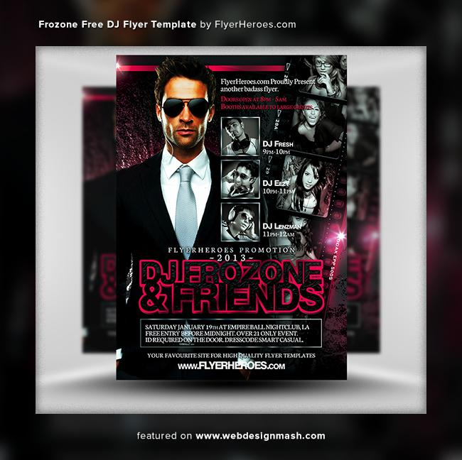 Club Flyer Design Templates Free