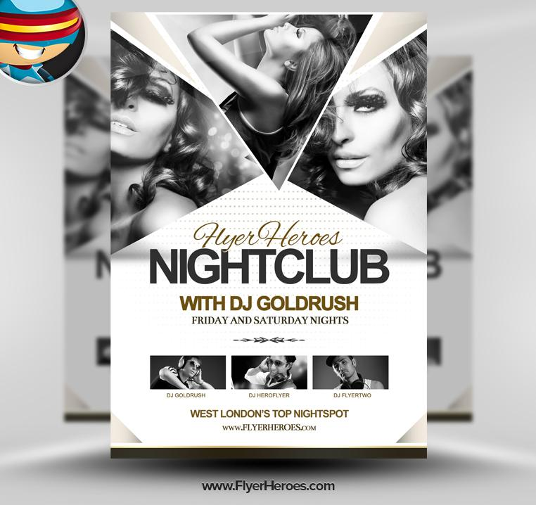 Club Flyer Psd Templates