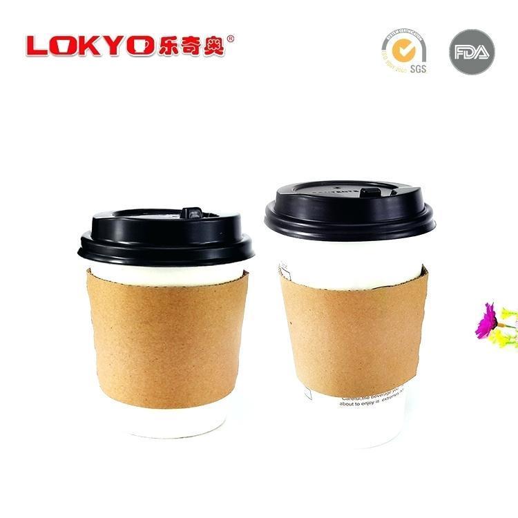Coffee Cup Sleeve Template Psd