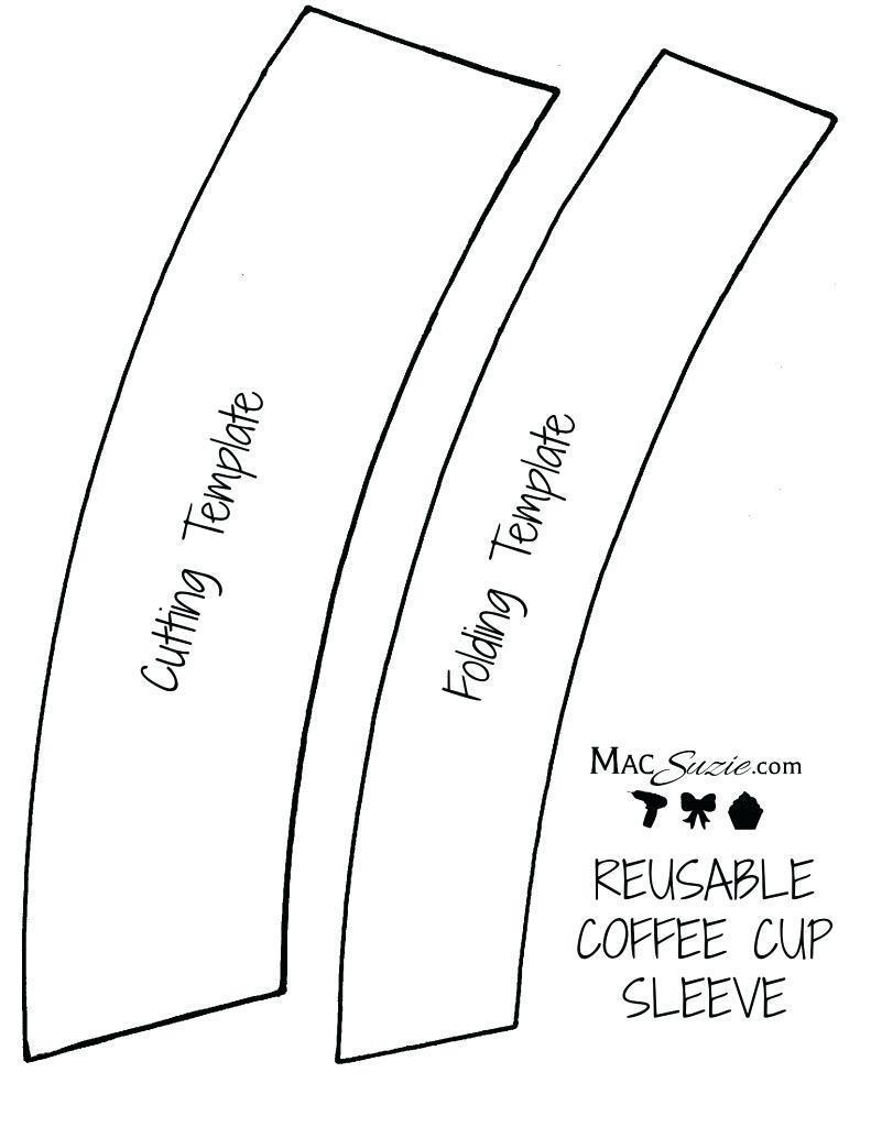 Coffee Sleeve Design Template