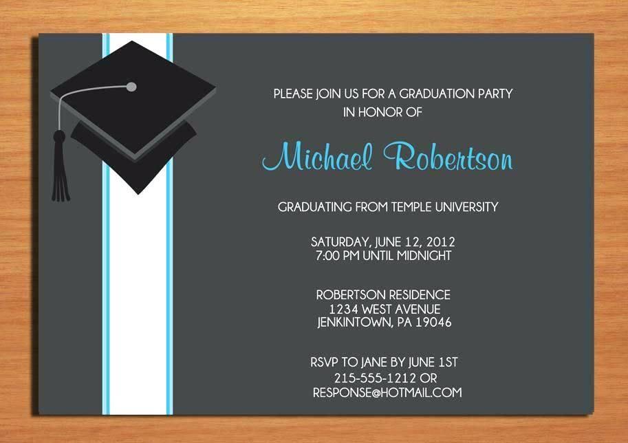 College Graduation Invites Templates