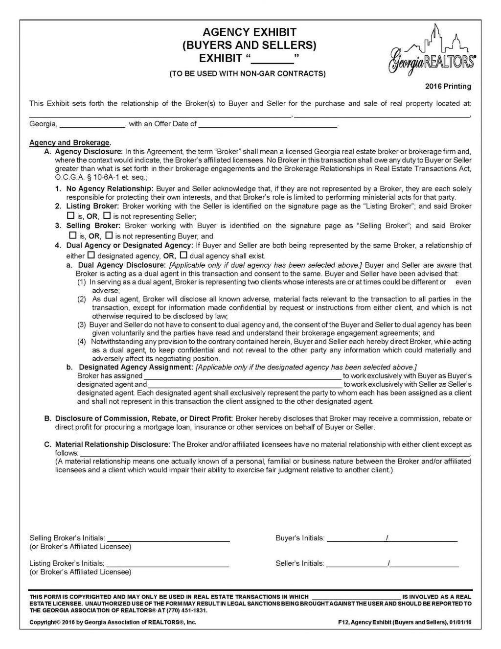 Colorado Real Estate Commission Contract Forms