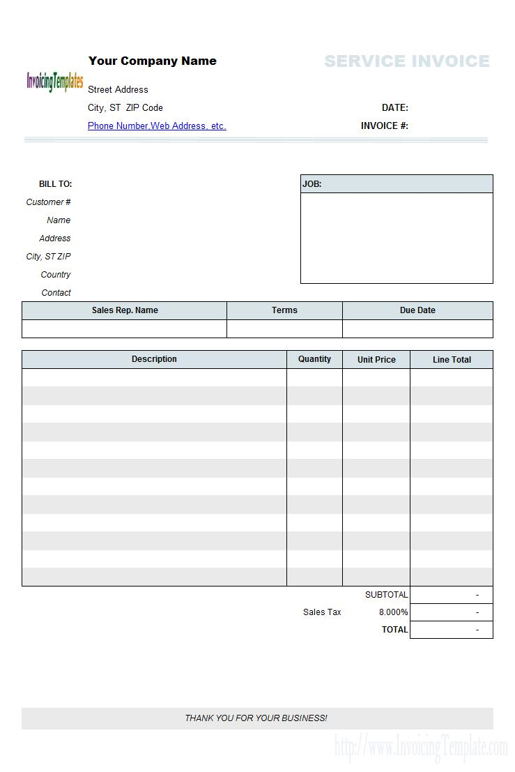Commercial Invoice Template Canada Fedex