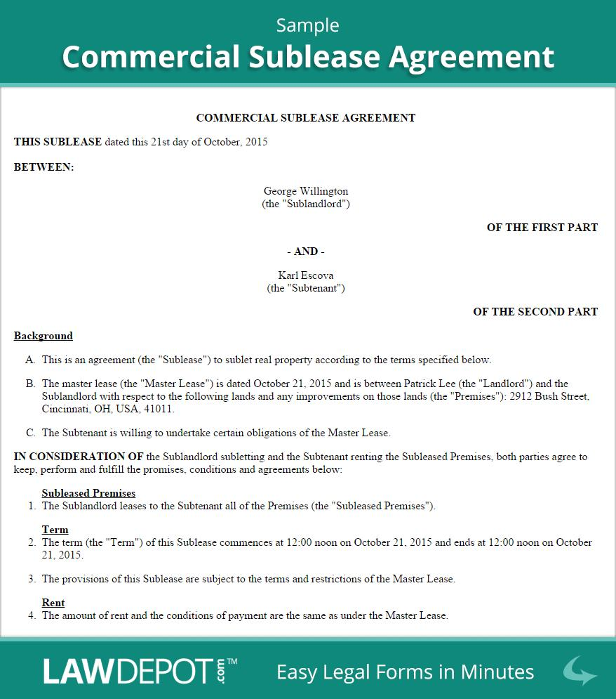 Commercial Lease Agreement Template Nz Free