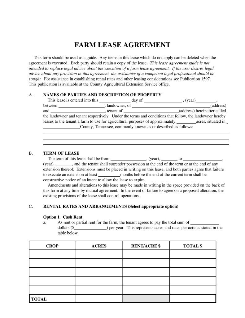 Commercial Lease Template Scotland