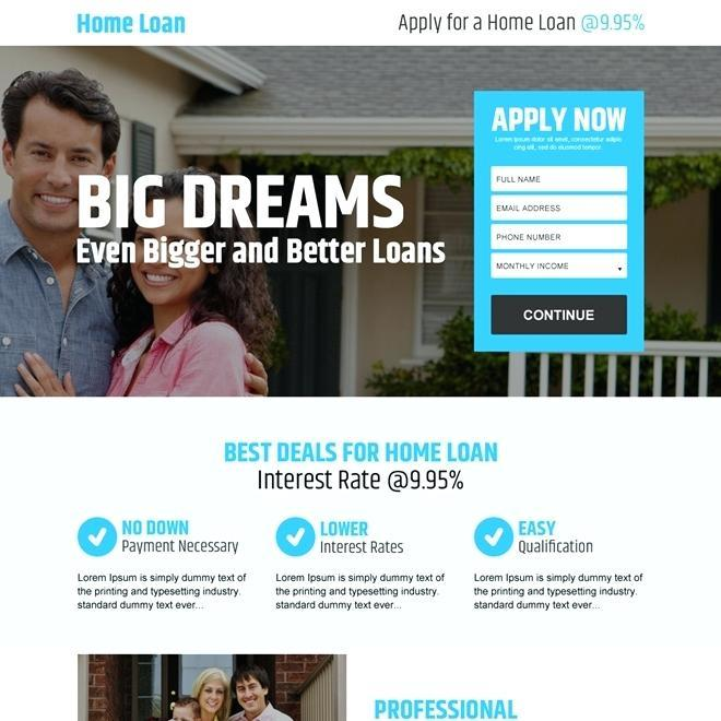 Commercial Mortgage Broker Website Templates