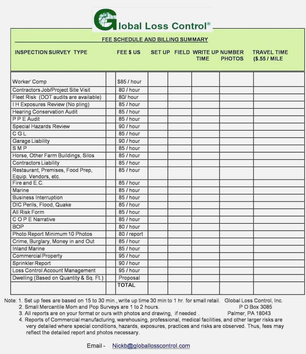 Commercial Property Inspection Checklist Form