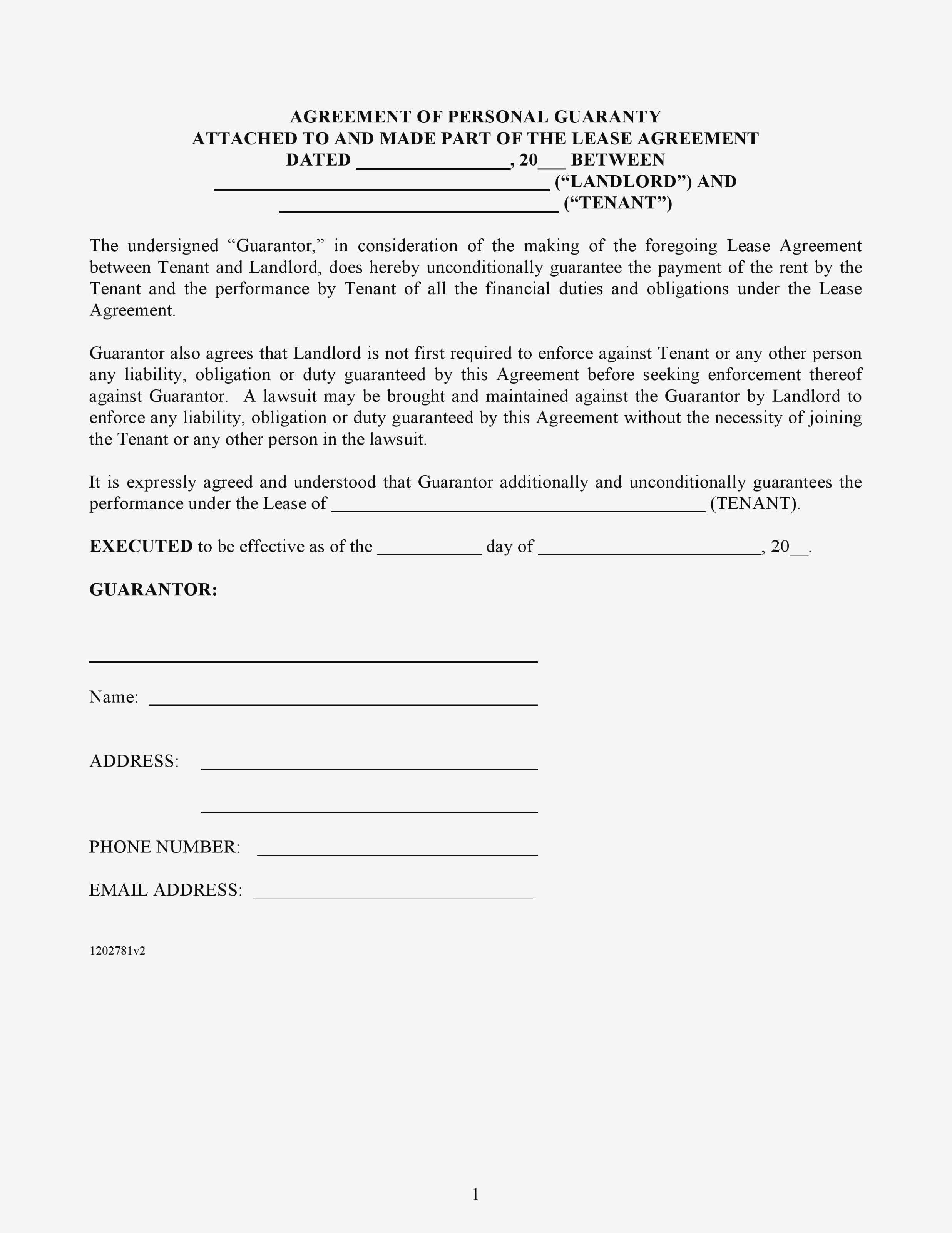 Commercial Real Estate Contract Template