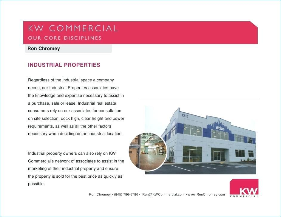 Commercial Real Estate Listing Presentation Template