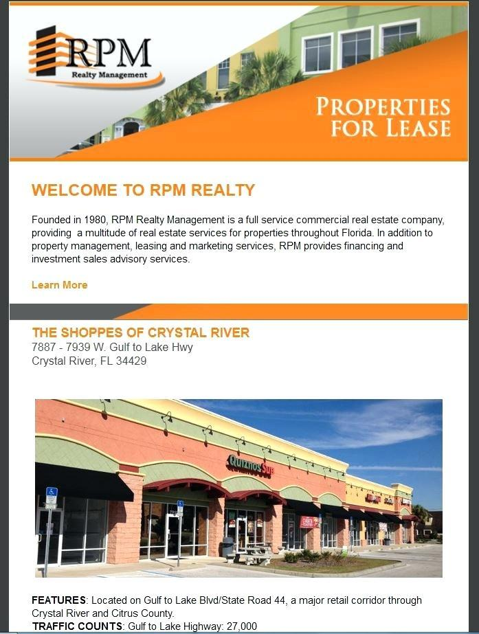Commercial Real Estate Newsletter Templates
