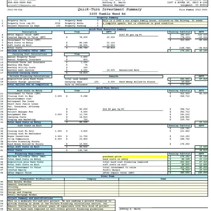 Commercial Real Estate Valuation Excel Templates