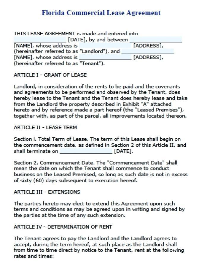 Commercial Sublease Agreement Template Nz Free