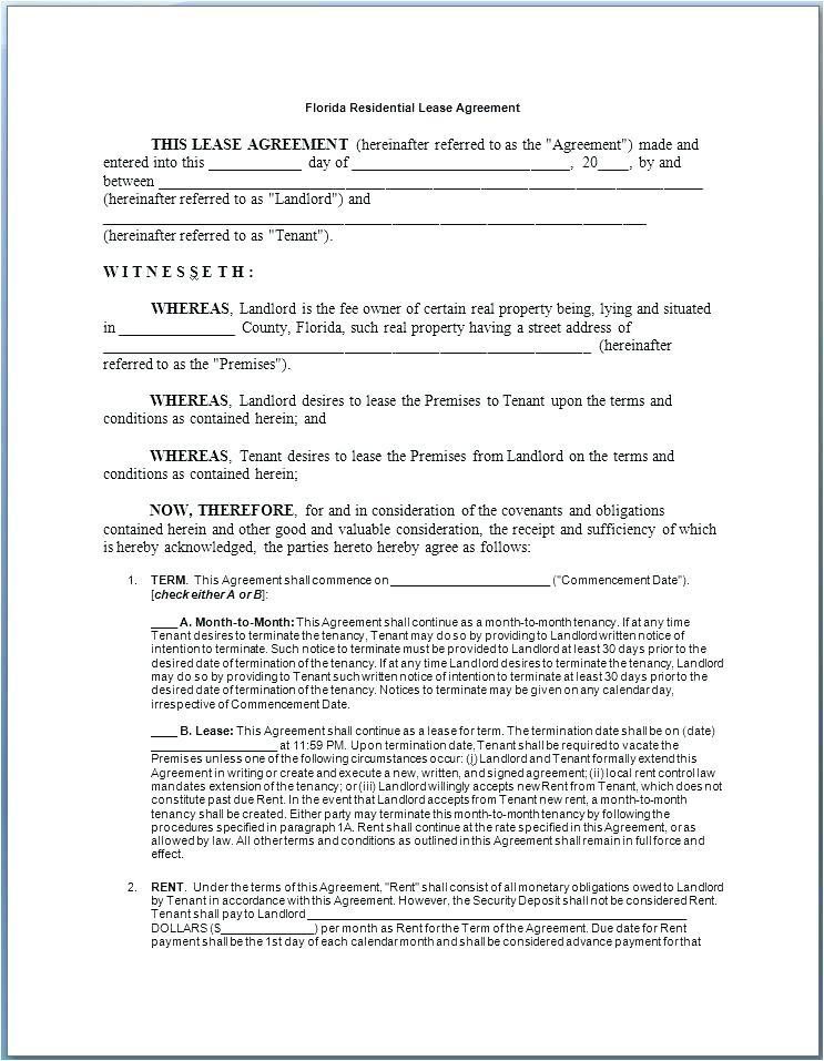 Commercial Tenancy Agreement Template Free Uk