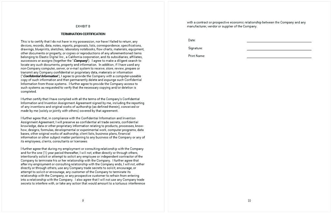 Company Confidentiality Policy Template