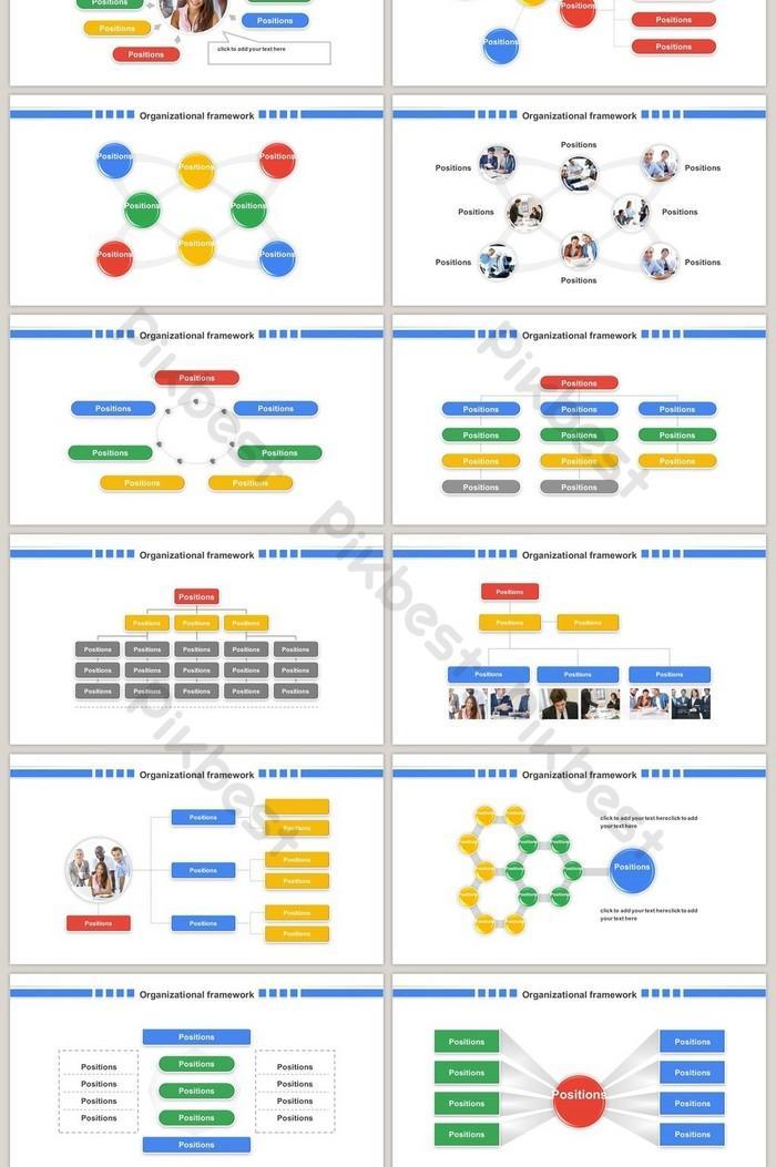 Company Organization Chart Template Ppt
