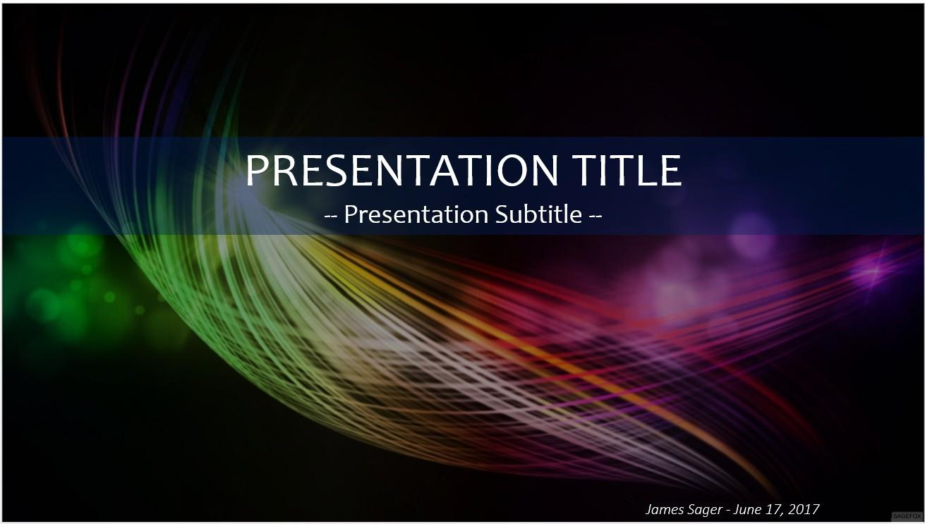 Computer Graphics Powerpoint Templates