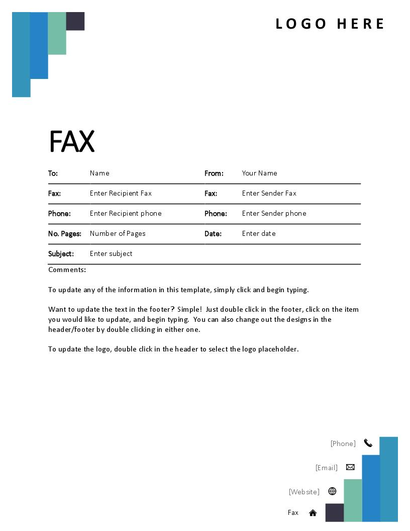 Confidential Fax Cover Letter Template