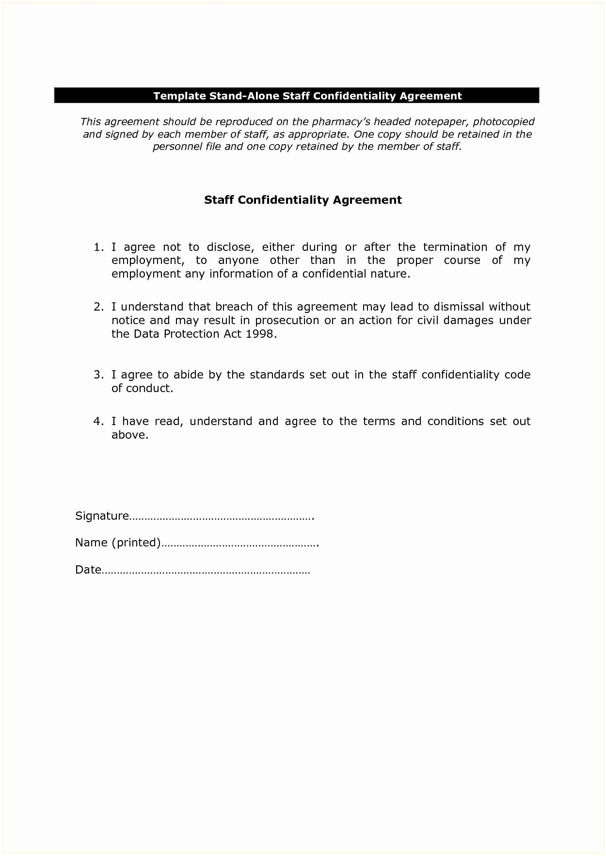 Confidentiality Agreement Template California
