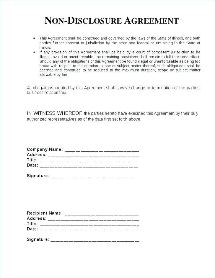 Confidentiality Agreement Template Gdpr