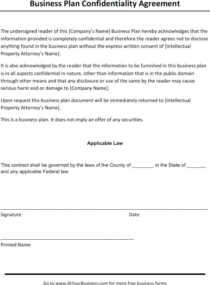 Confidentiality Agreement Template South Africa