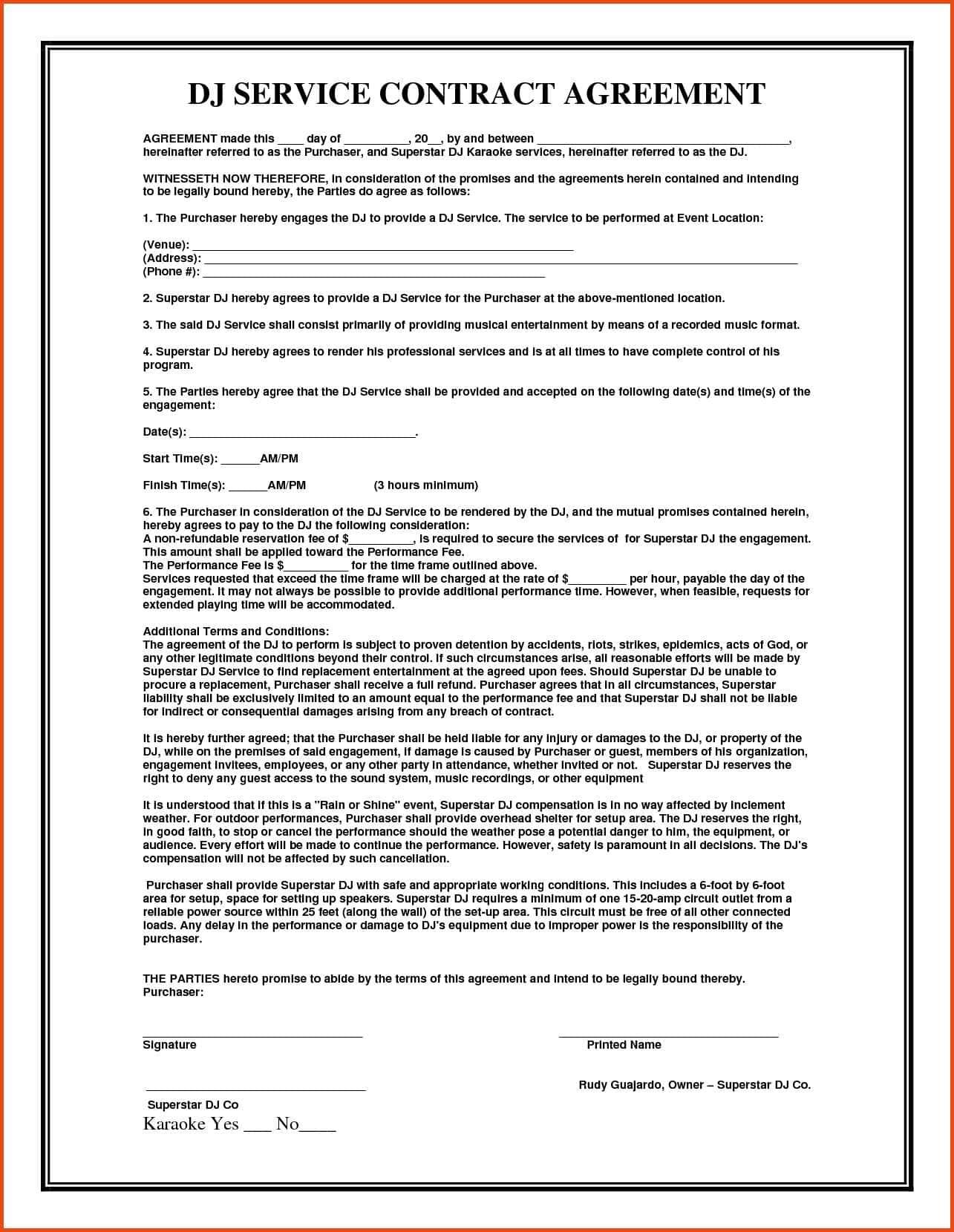 Consignment Document Template