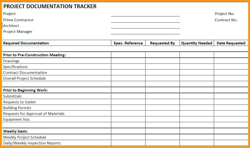 Construction Daily Progress Report Template Free