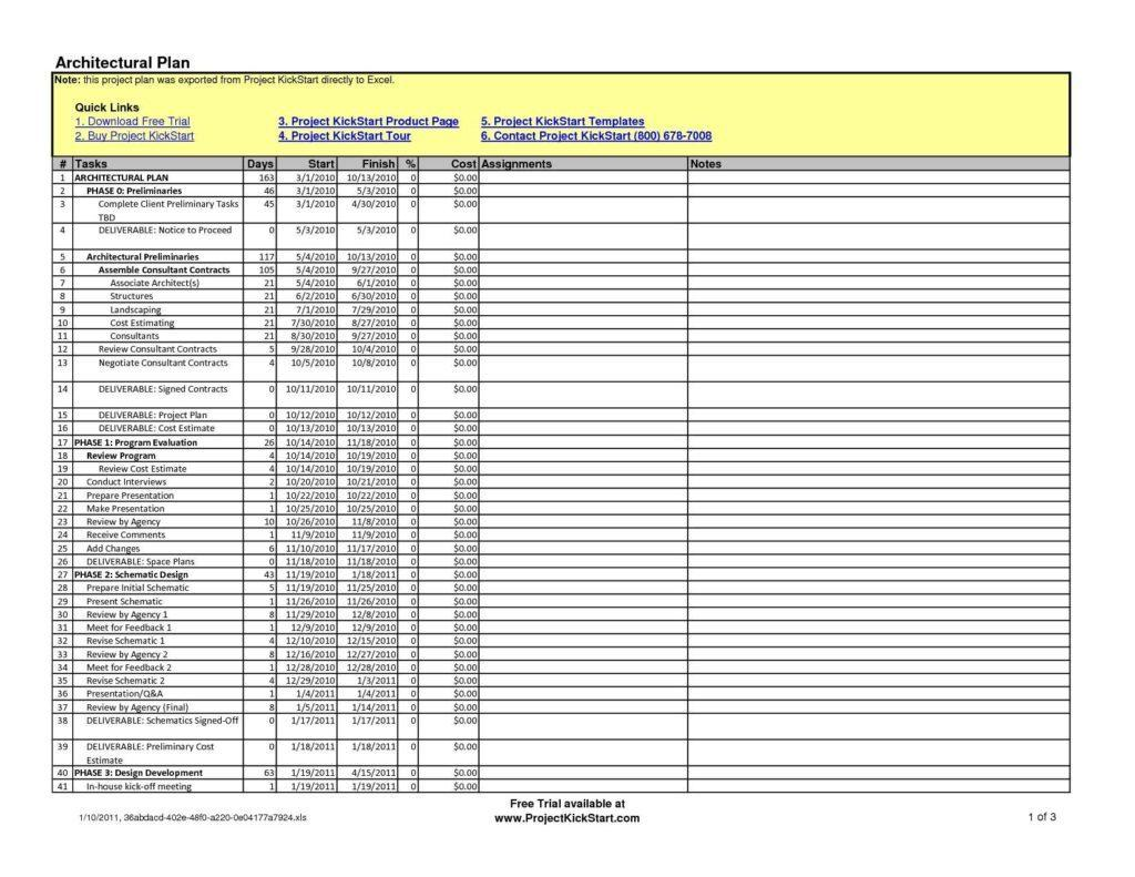 Construction Expense Tracking Template
