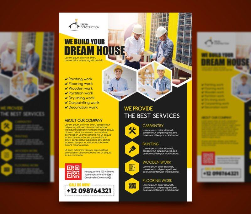 Construction Flyer Templates Free