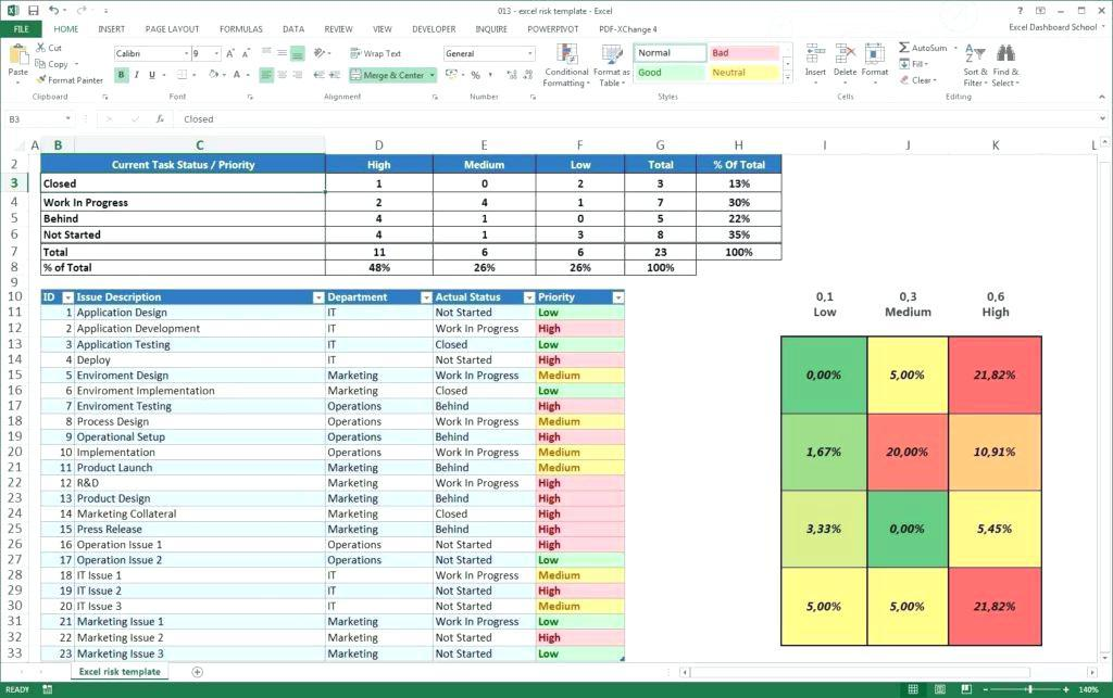 Construction Project Management Spreadsheet Template