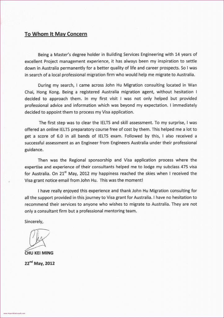 Construction Proposal Letter Template Free