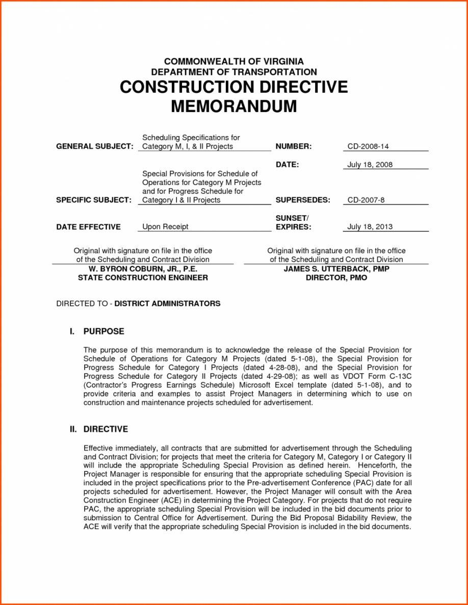 Construction Proposal Sample Letter