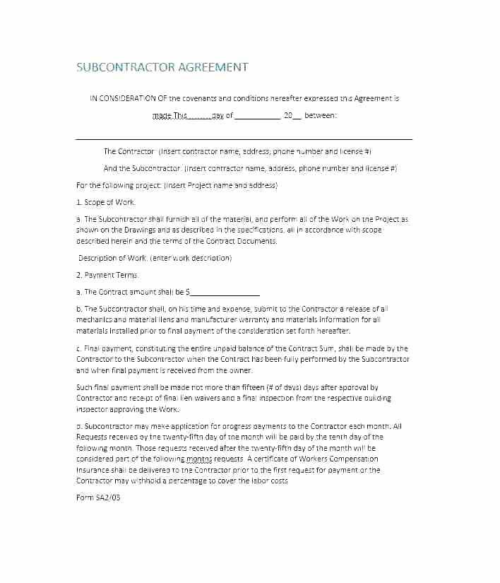 Construction Warranty Template Free