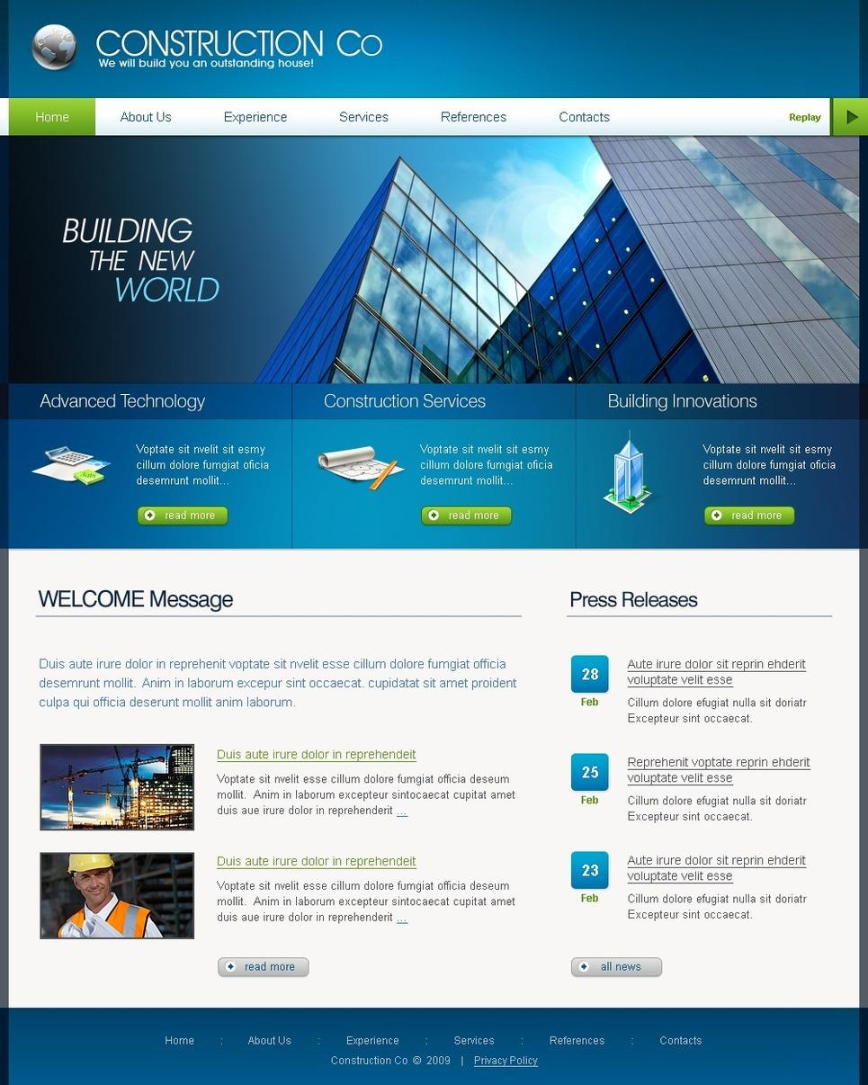 Construction Websites Templates Free Download