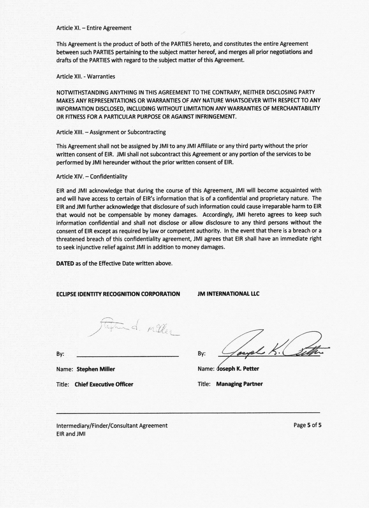 Consultancy Agreement Template Plc