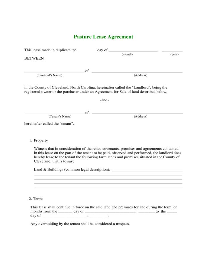 Contract Farming Agreement Sample Doc