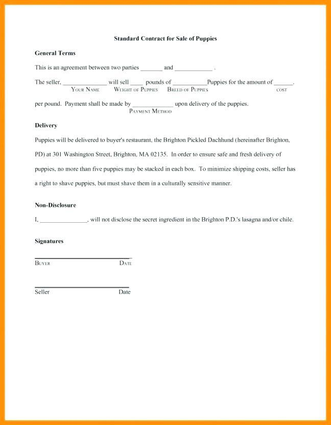 Contract Form Loan Money