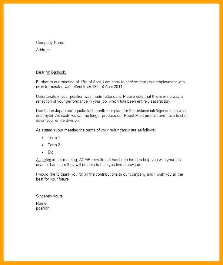 Contract Termination Letter Template Uk