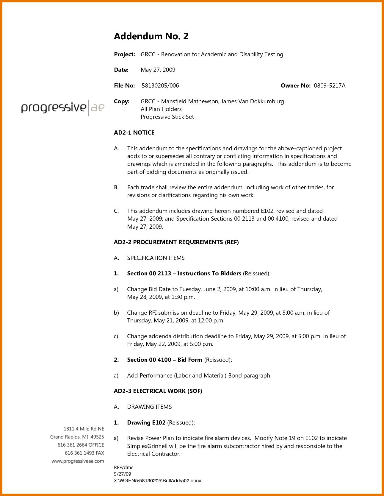 Contractor Contract Forms Free