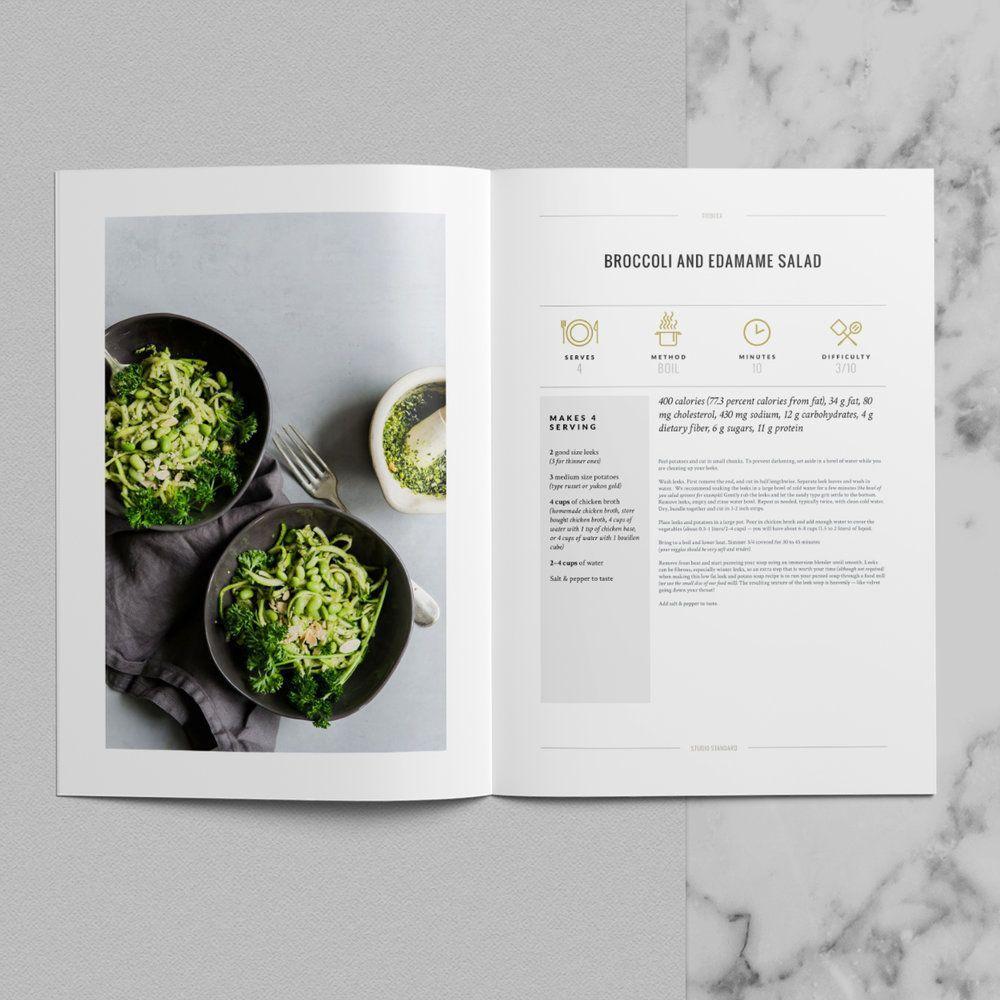 Cookbook Design Templates