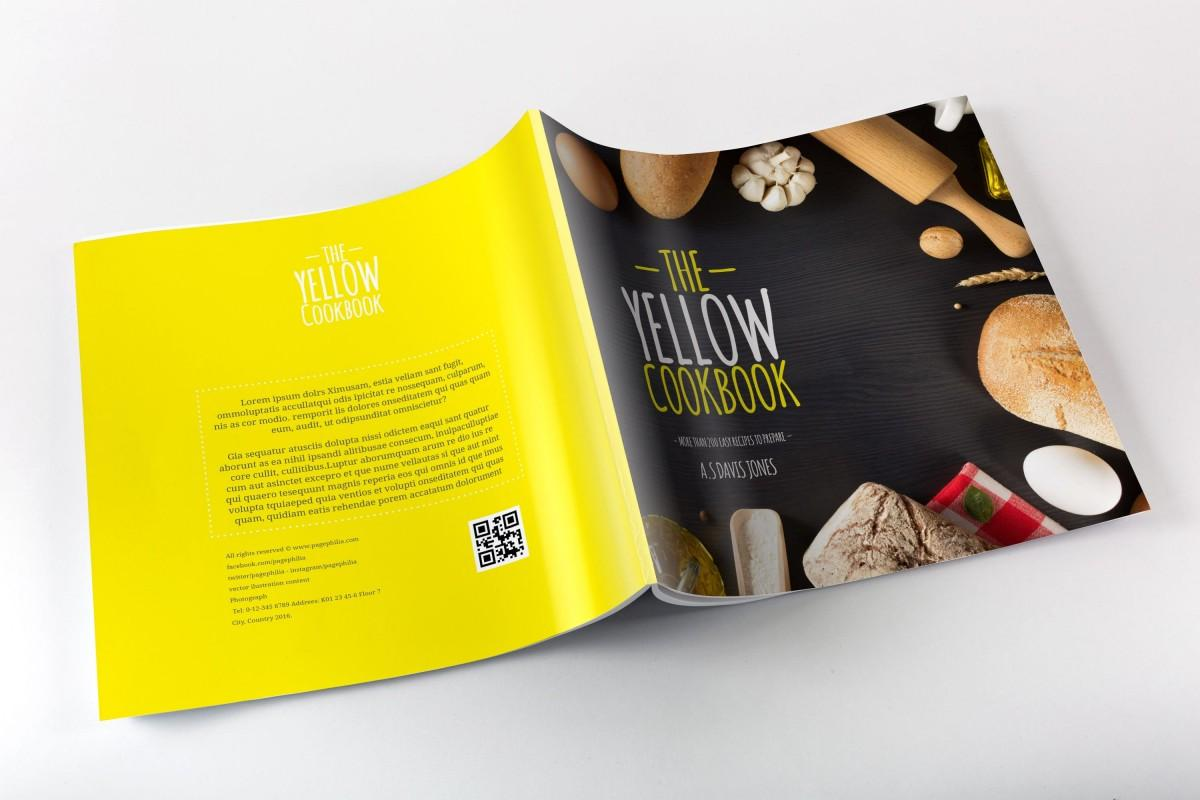 Cookbook Template Free Indesign