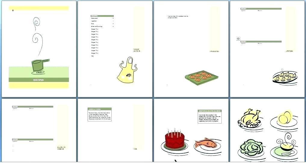 Cookbook Templates For Mac Pages