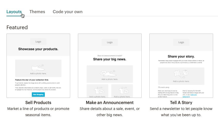Copy Mailchimp Template Code